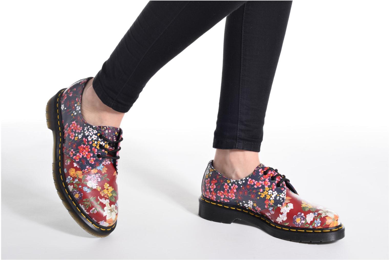 Chaussures à lacets Dr. Martens 1461 W Gris vue bas / vue portée sac