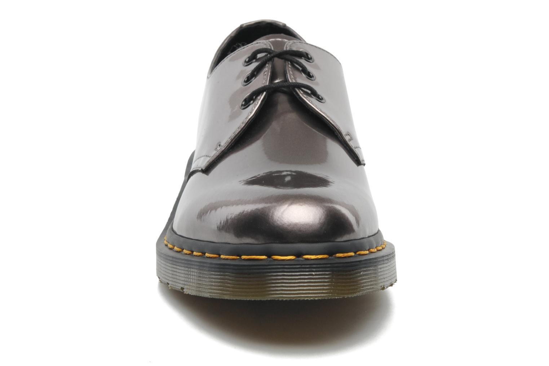 Chaussures à lacets Dr. Martens 1461 W Gris vue portées chaussures