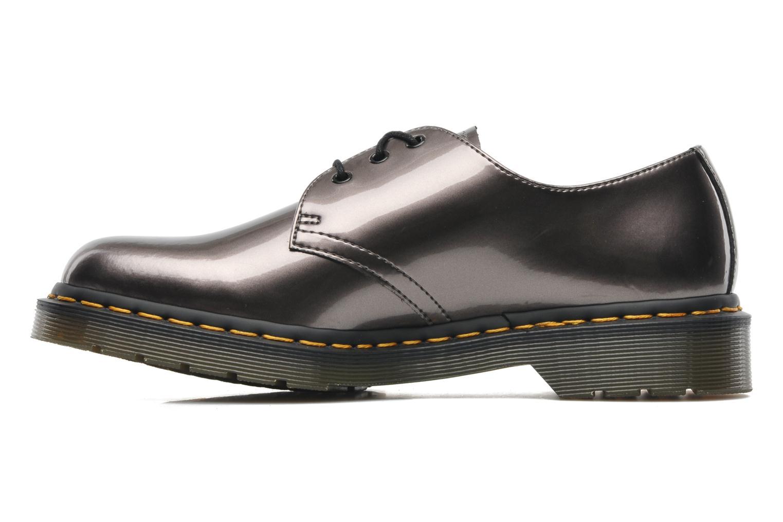 Chaussures à lacets Dr. Martens 1461 W Gris vue face