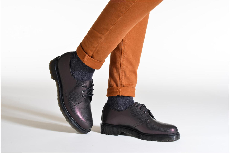 Chaussures à lacets Dr. Martens 1461 W Violet vue bas / vue portée sac