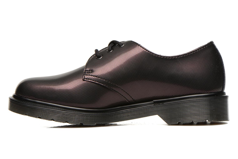 Chaussures à lacets Dr. Martens 1461 W Violet vue face