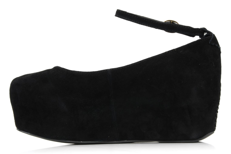 High heels Jeffrey Campbell Beebee Black front view