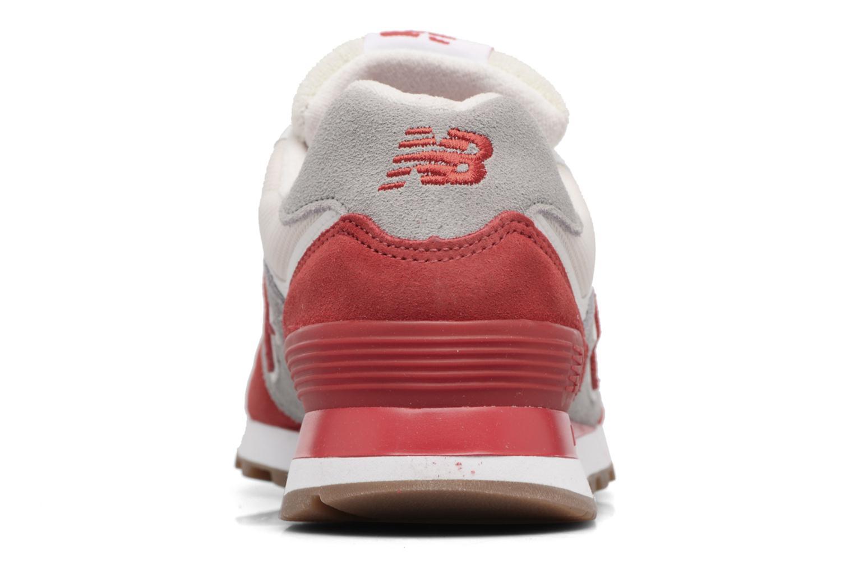 Baskets New Balance Ml574 Rouge vue droite
