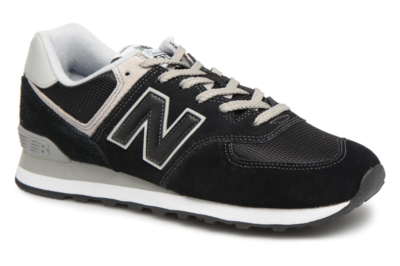 New Balance Ml574 (Noir) - Baskets chez Sarenza (313082)