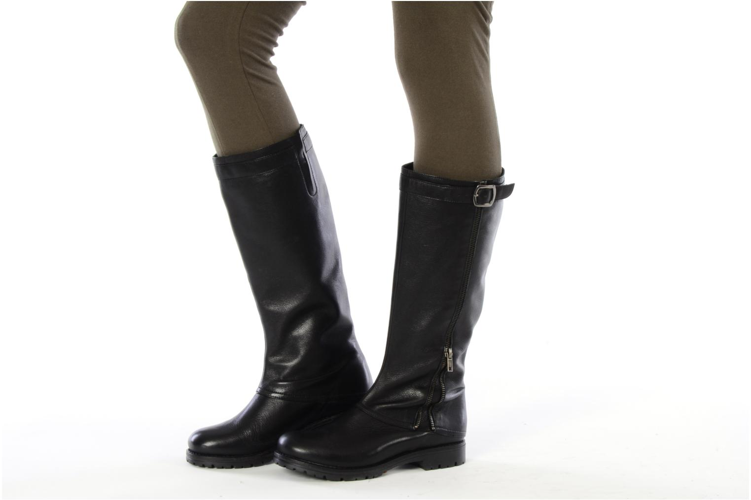 Boots & wellies Georgia Rose Damone Black view from underneath / model view