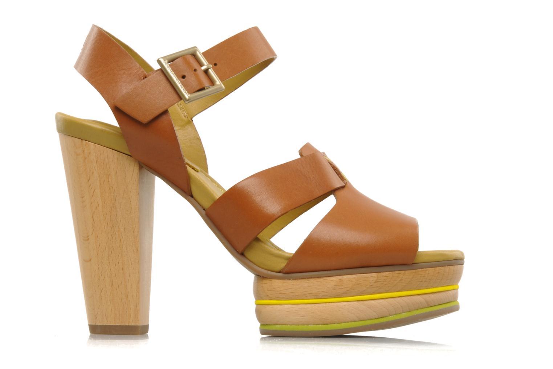 Sandales et nu-pieds See by Chloé Palma Marron vue derrière