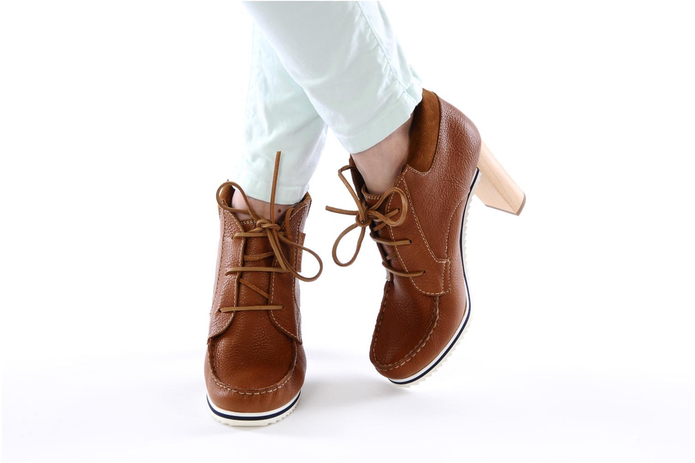 Bottines et boots See by Chloé Gramercy Park Marron vue bas / vue portée sac