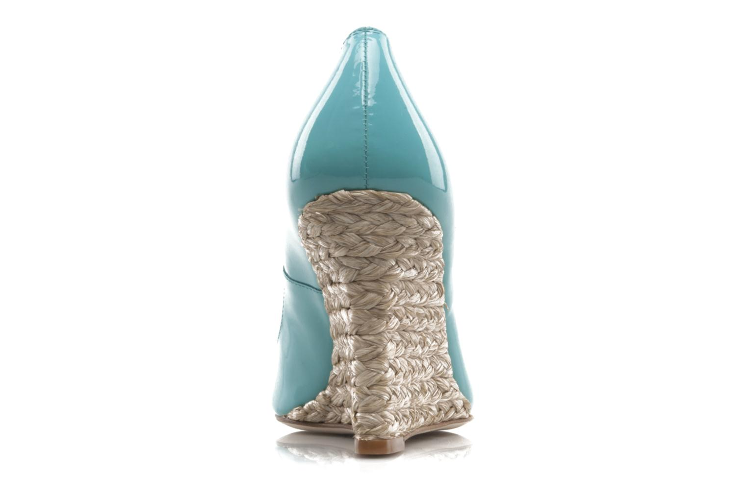 High heels L.K. Bennett Maddox Blue view from the right