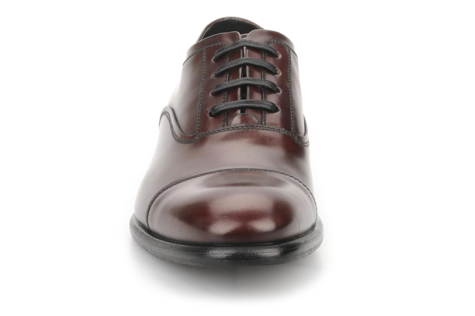 Lace-up shoes Doucal's Pierrot Burgundy model view