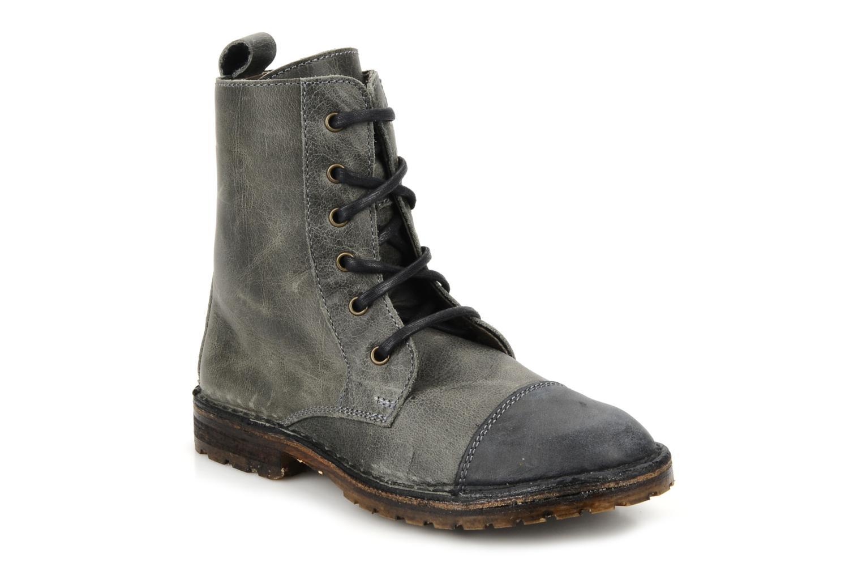 Bottines et boots C'Entre Maman & Moi! Mitad Gris vue détail/paire