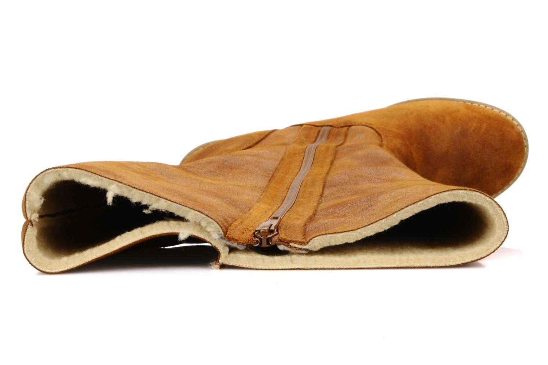 Botas Castaluna Stella XL Marrón vista lateral izquierda