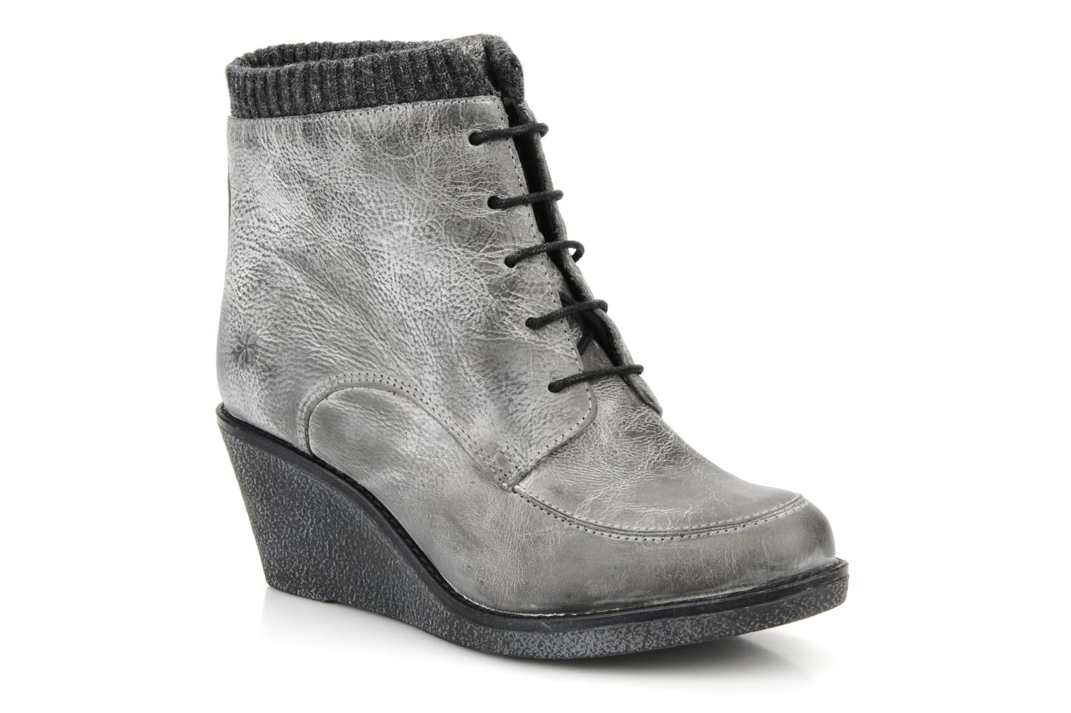 Ankle boots Castaluna Mildred XL Grey detailed view/ Pair view