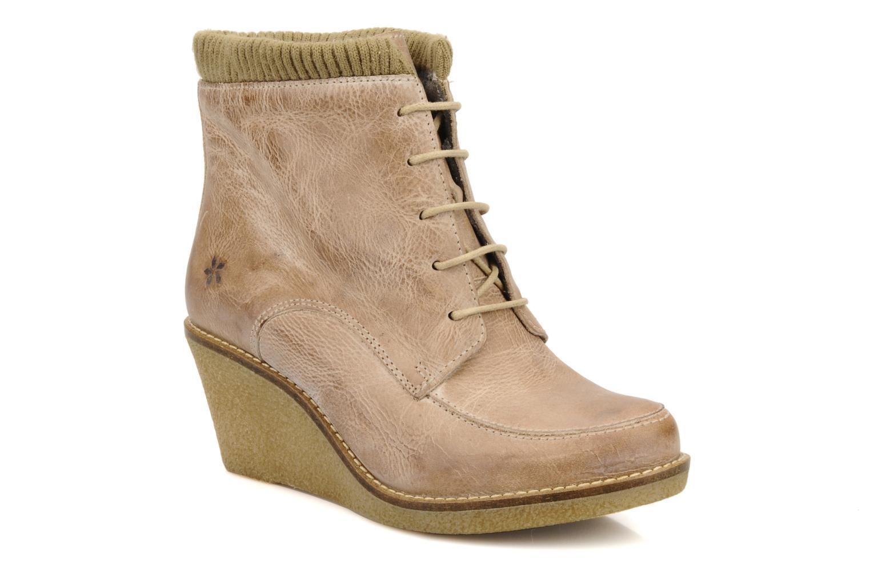 Ankle boots Castaluna Mildred XL Beige detailed view/ Pair view