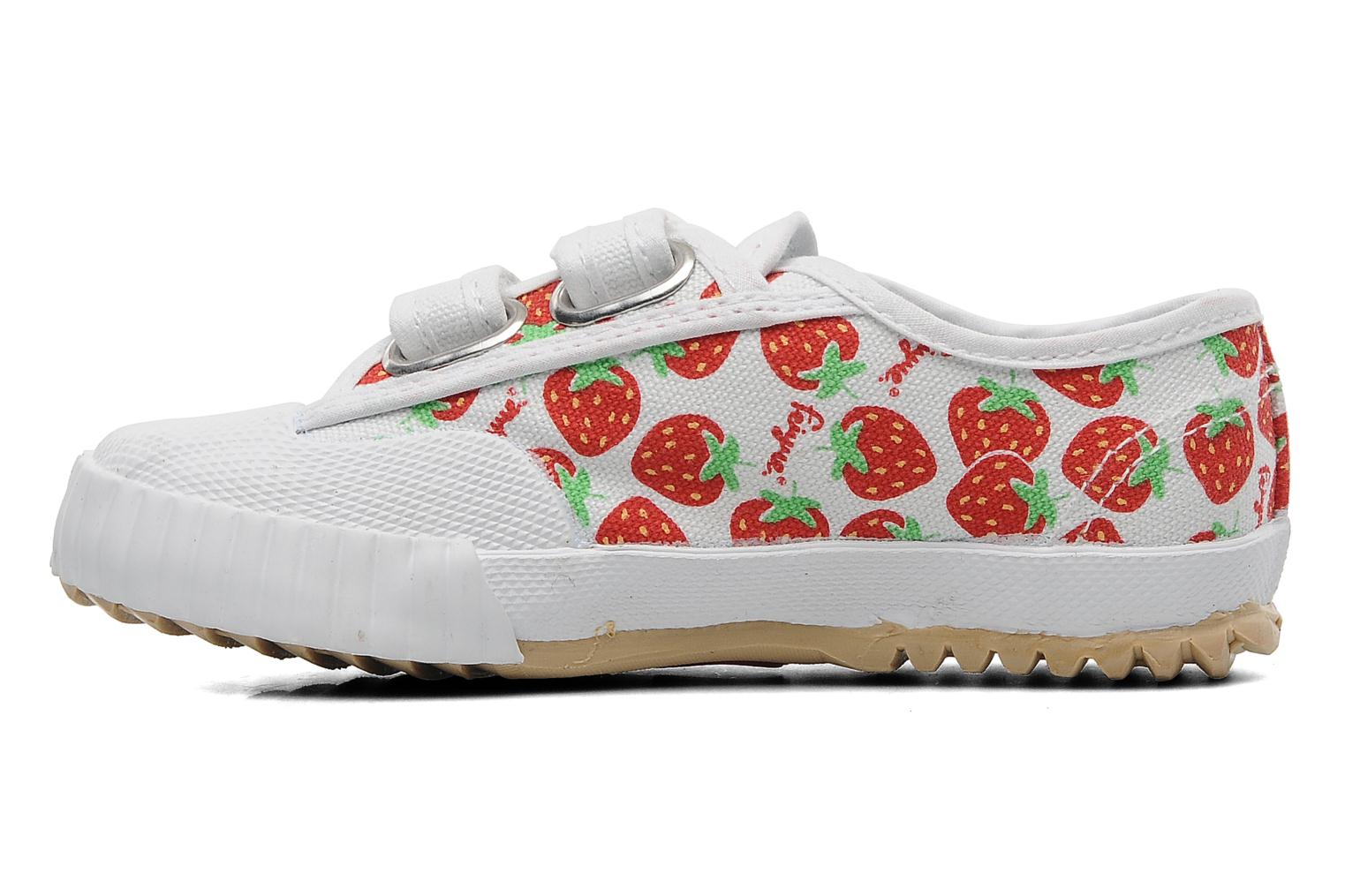 Fe Lo Kid Scratch White/Strawberries