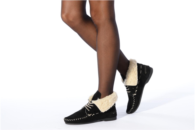 Chaussures à lacets Jonak Babs Noir vue bas / vue portée sac