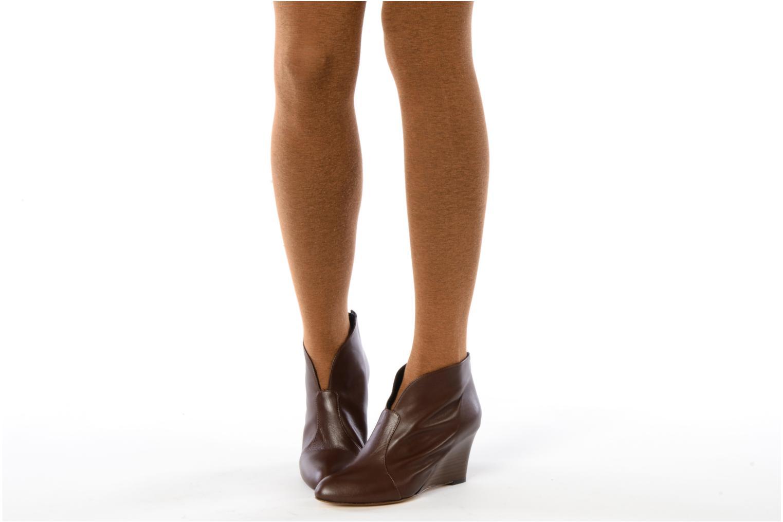 Bottines et boots Georgia Rose Majuro Marron vue bas / vue portée sac
