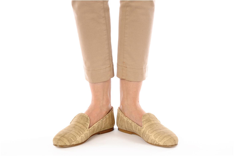 Slipper Surface To Air Blade slipper beige ansicht von unten / tasche getragen