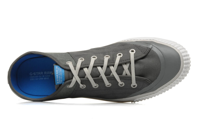 Sneaker G-Star Campus Courier Prowl Drill grau ansicht von links