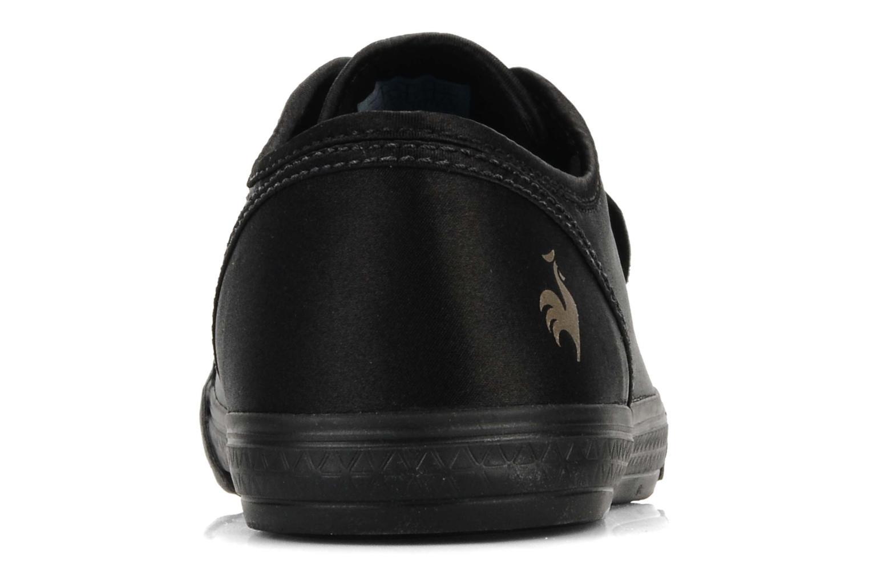 Sneakers Le Coq Sportif Deauville plus satin shaded W Nero immagine destra