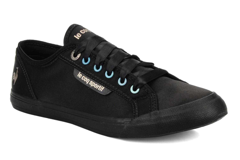 Sneakers Le Coq Sportif Deauville plus satin shaded W Nero vedi dettaglio/paio