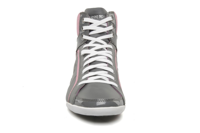 Sneakers Le Coq Sportif Victoire lea dots W Grigio modello indossato