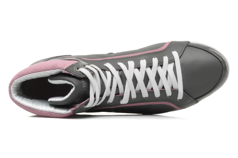 Sneakers Le Coq Sportif Victoire lea dots W Grigio immagine sinistra