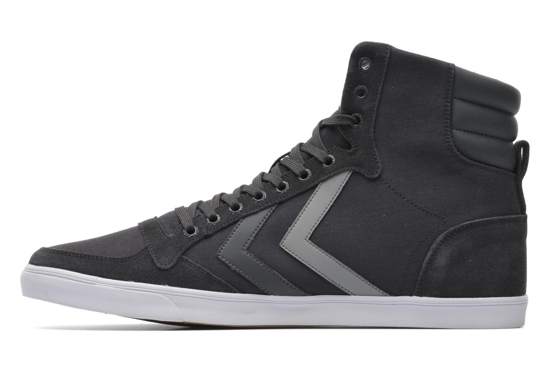 Sneaker Hummel Slimmer Stadil High Canvas grau ansicht von vorne