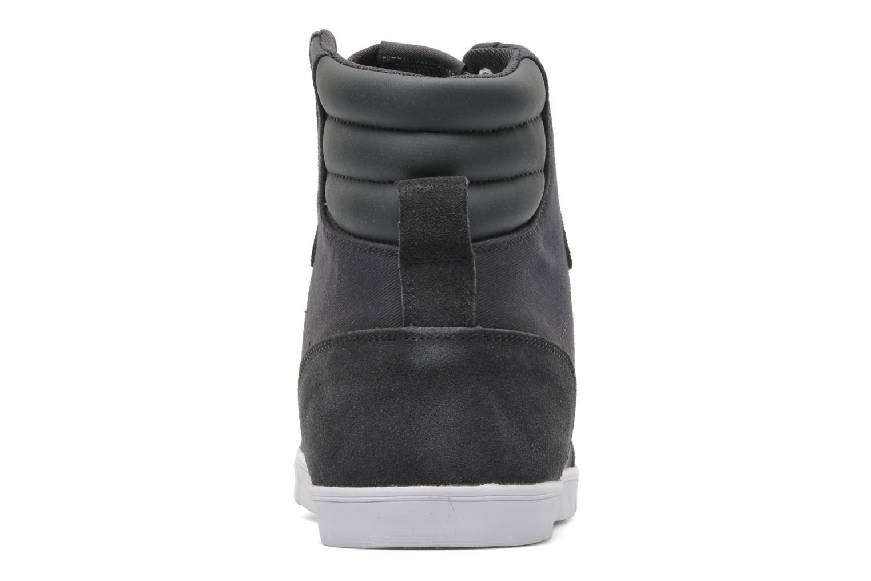 Sneaker Hummel Slimmer Stadil High Canvas grau ansicht von rechts