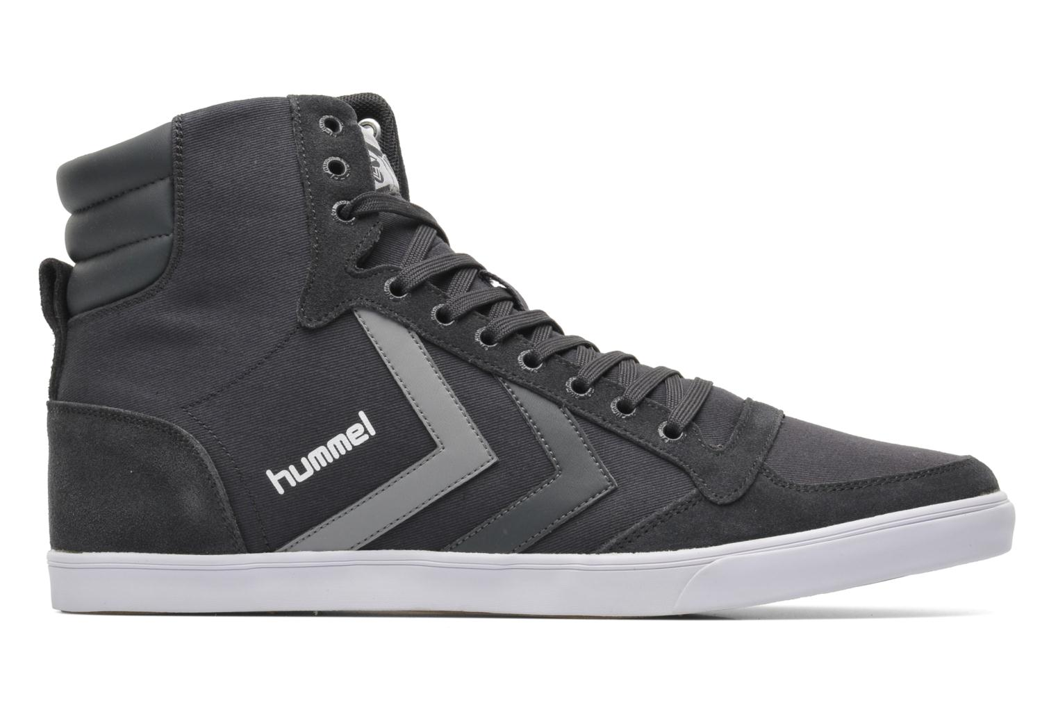 Trainers Hummel Slimmer Stadil High Canvas Grey back view