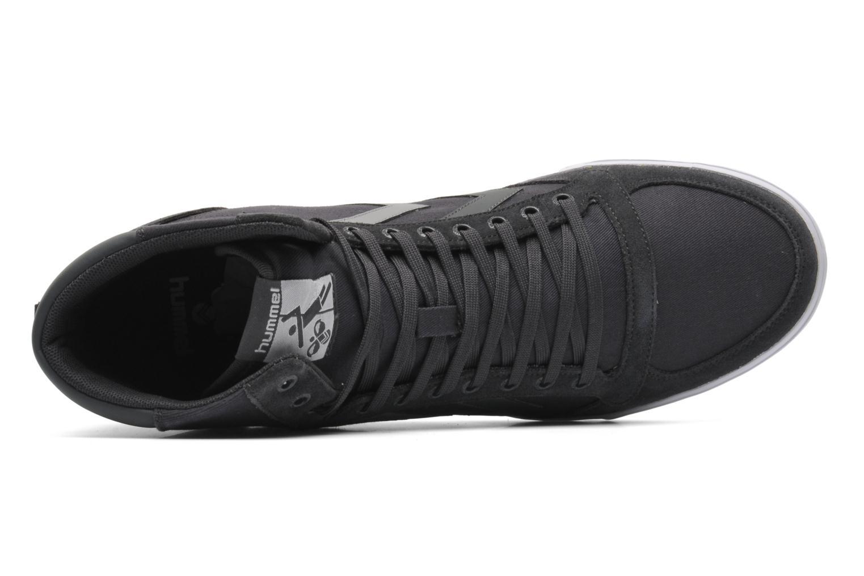 Sneaker Hummel Slimmer Stadil High Canvas grau ansicht von links
