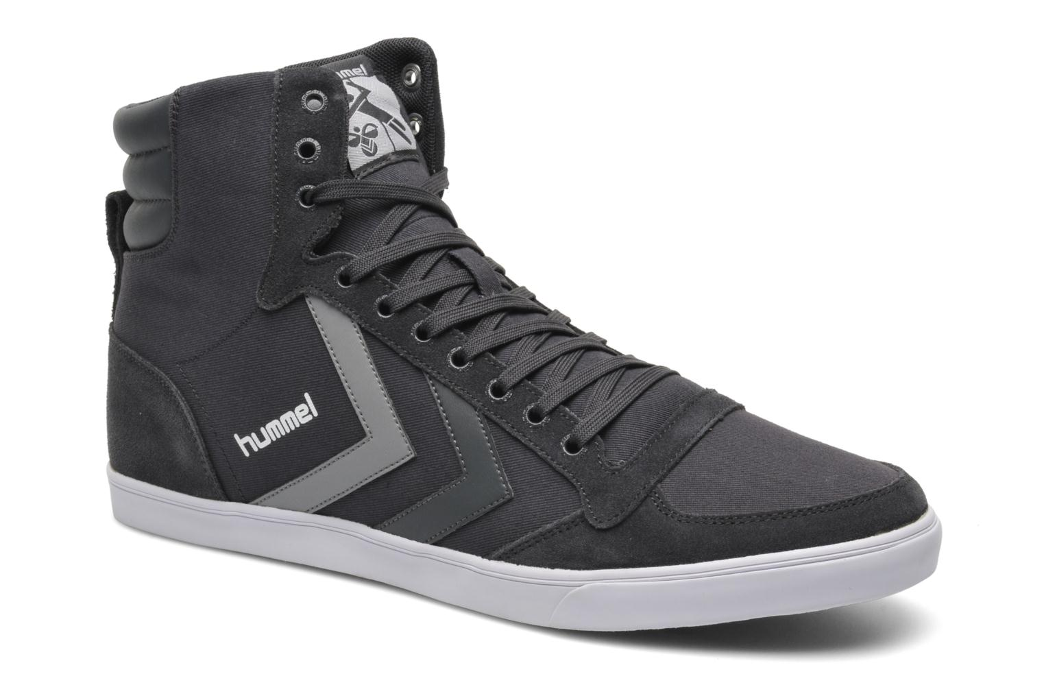 Trainers Hummel Slimmer Stadil High Canvas Grey detailed view/ Pair view