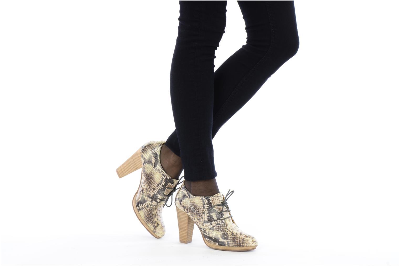 Chaussures à lacets Belmondo Belato Gris vue bas / vue portée sac