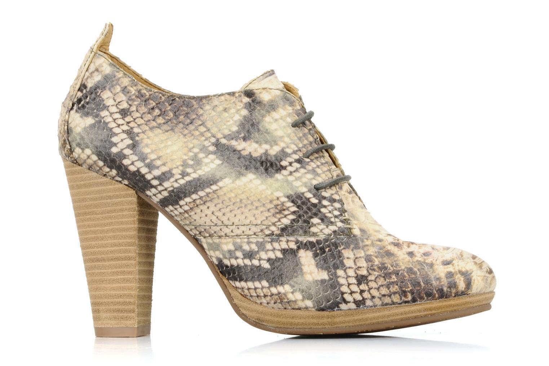 Chaussures à lacets Belmondo Belato Gris vue derrière
