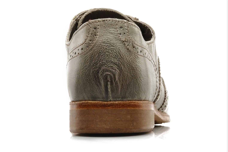 Chaussures à lacets IKKS Carey Gris vue droite