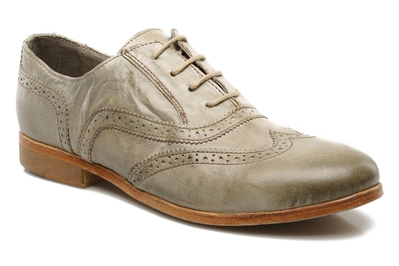 Chaussures à lacets IKKS Carey Gris vue détail/paire