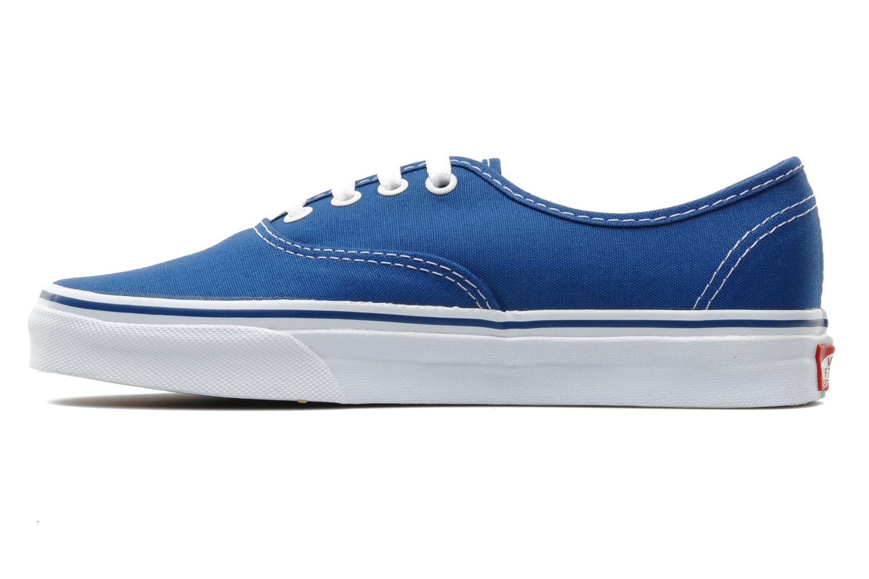 Trainers Vans Authentic w Blue front view