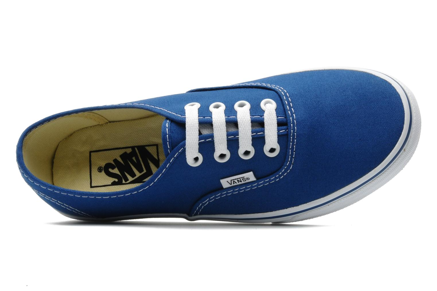 Sneaker Vans Authentic w blau ansicht von links