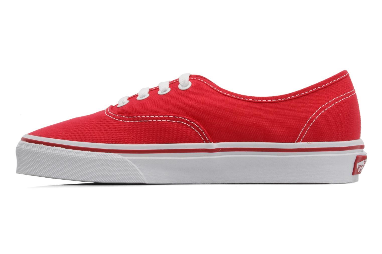 Sneaker Vans Authentic w rot ansicht von vorne