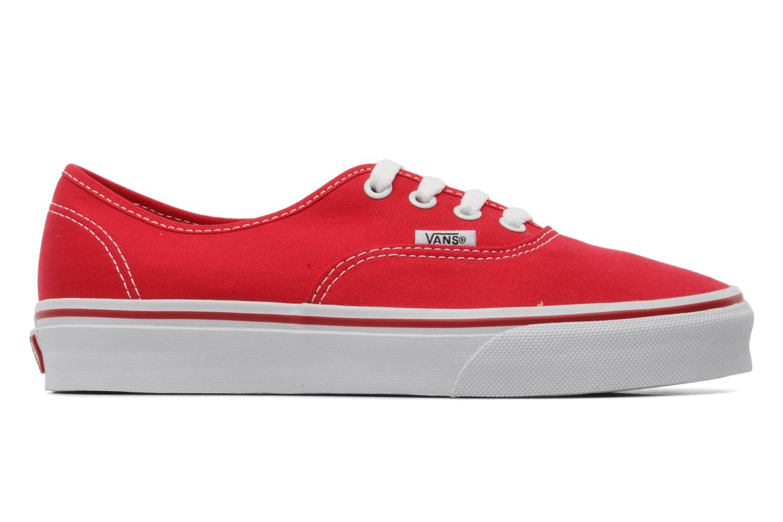 Sneakers Vans Authentic w Rood achterkant