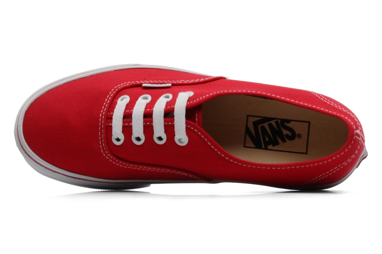 Sneakers Vans Authentic w Rood links
