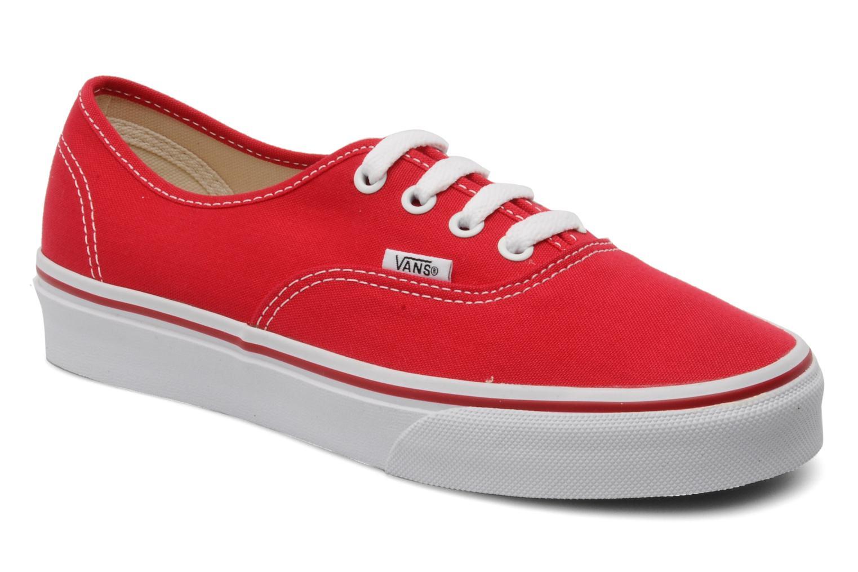 Sneakers Vans Authentic w Rood detail