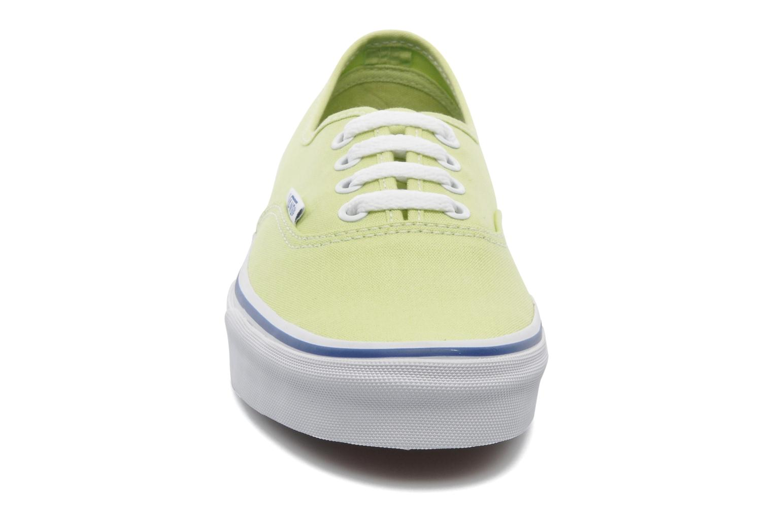 Trainers Vans Authentic w Green model view