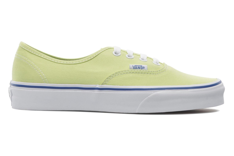 Sneakers Vans Authentic w Groen achterkant
