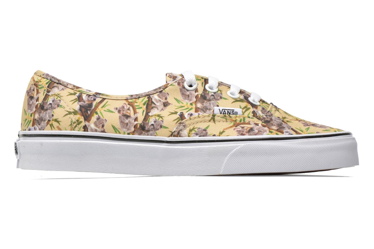 Sneakers Vans Authentic w Multicolor achterkant