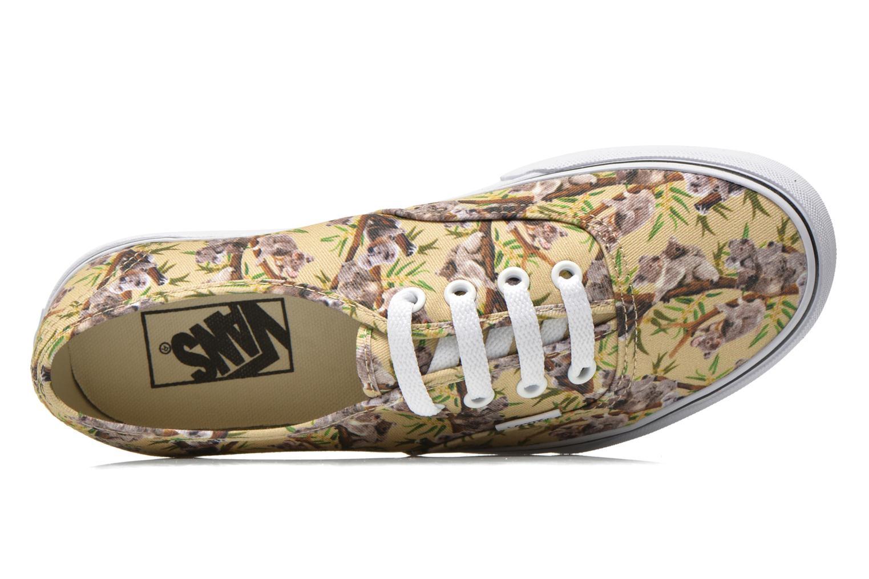 Sneaker Vans Authentic w mehrfarbig ansicht von links
