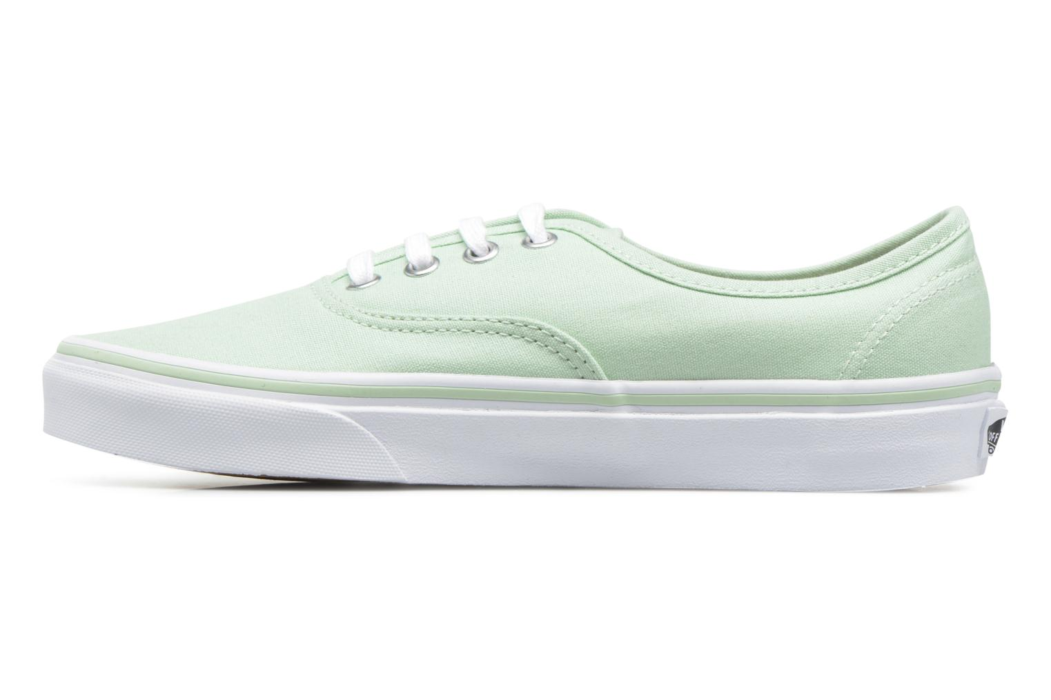 Deportivas Vans Authentic w Verde vista de frente