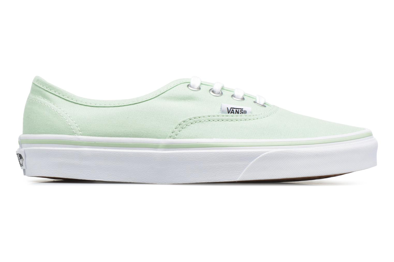 Trainers Vans Authentic w Green back view