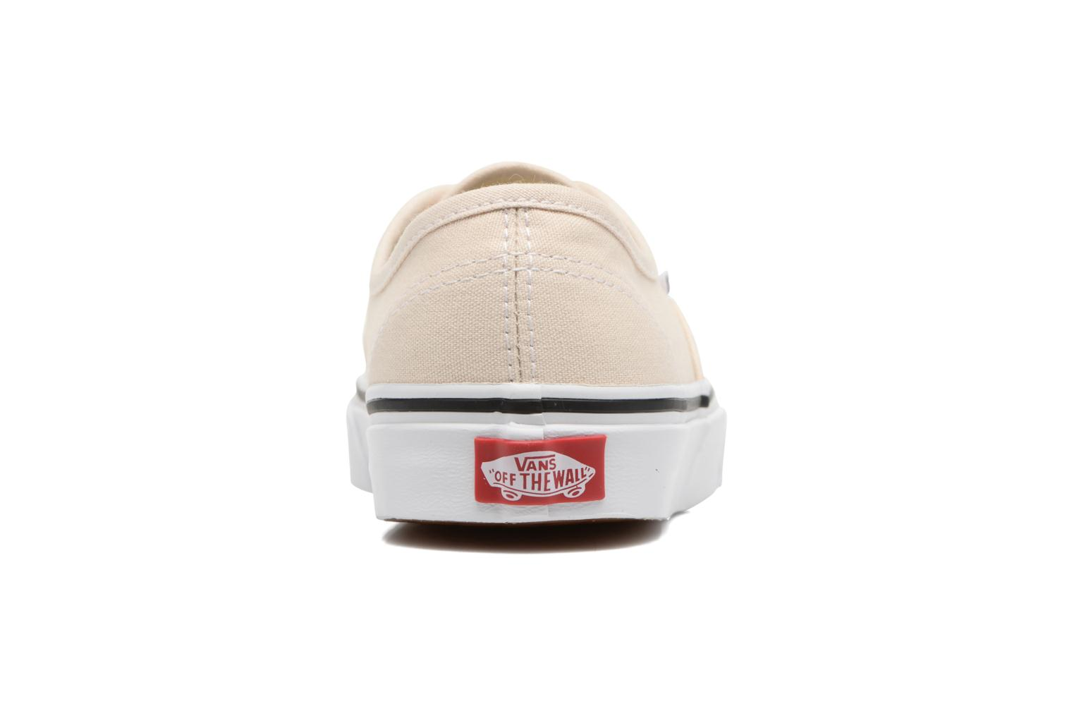 Trainers Vans Authentic w White view from the right