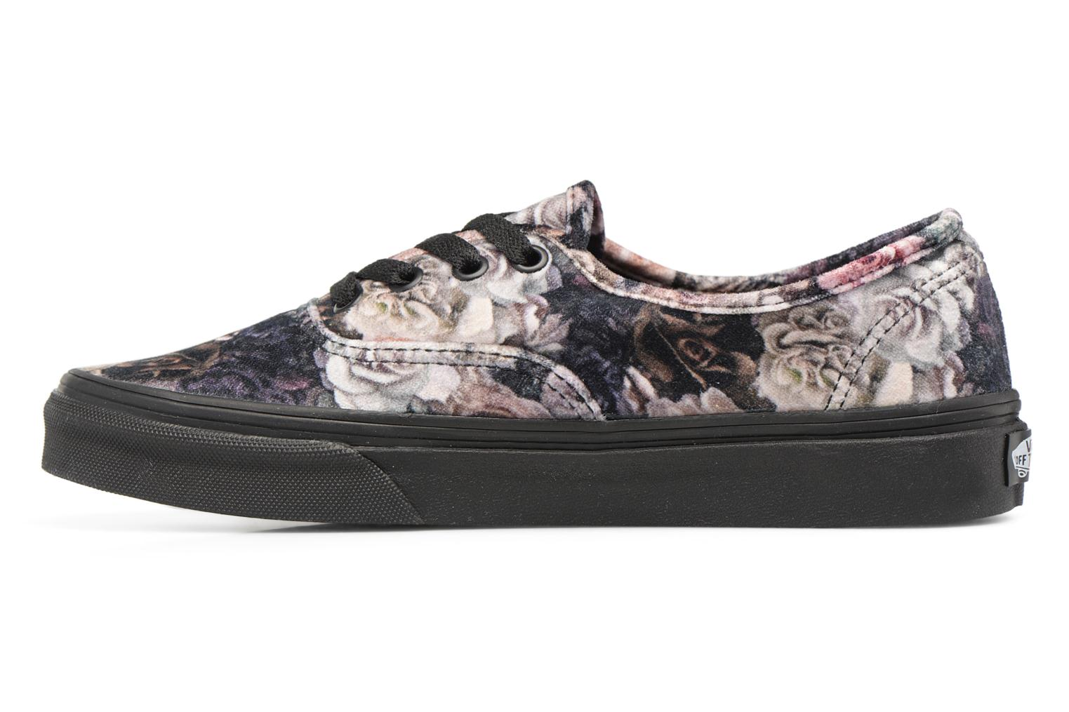 Authentic w Floral/black