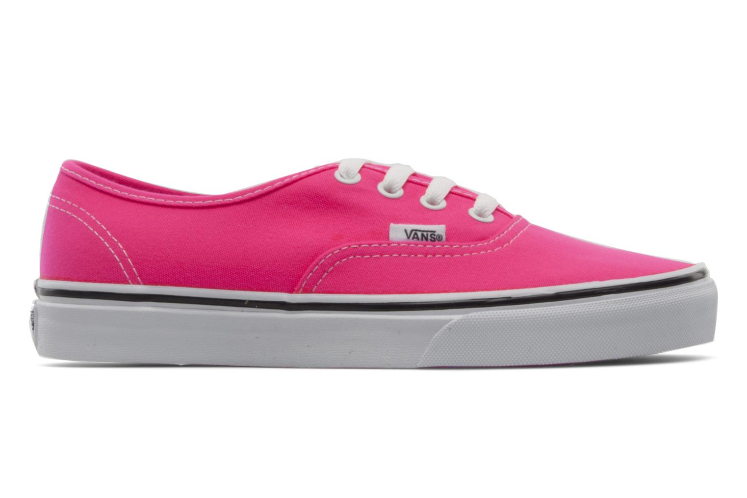 Sneakers Vans Authentic w Roze achterkant